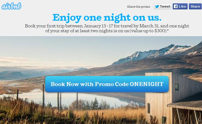 Darmowa noc od Airbnb.com