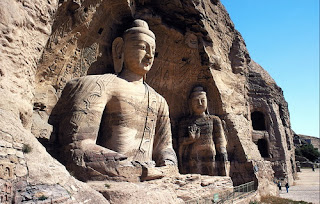 Buddharupa in Mogao Caves, enjoy it when you take a China tour to Dunhuang.