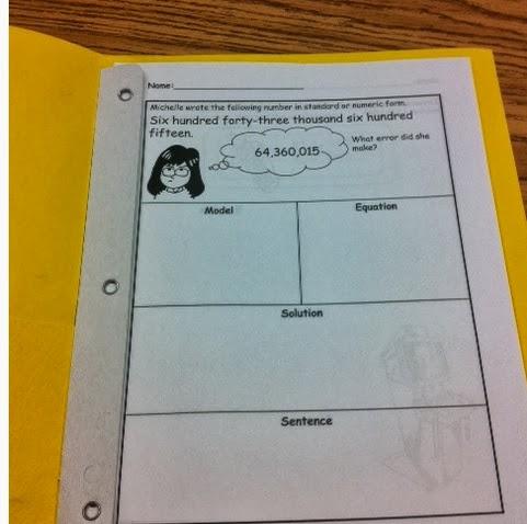 An Apple For The Teacher: Problem Solving - FREEBIE