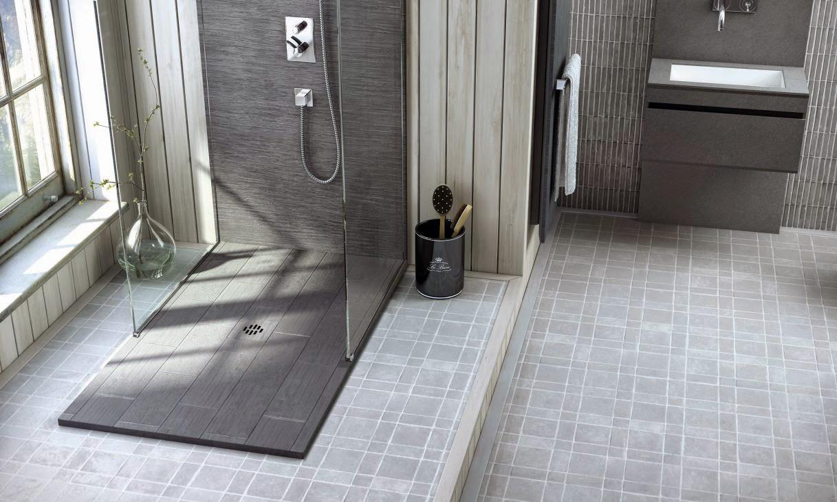 Platos de ducha estilo rústico - Cocinas Ricardo