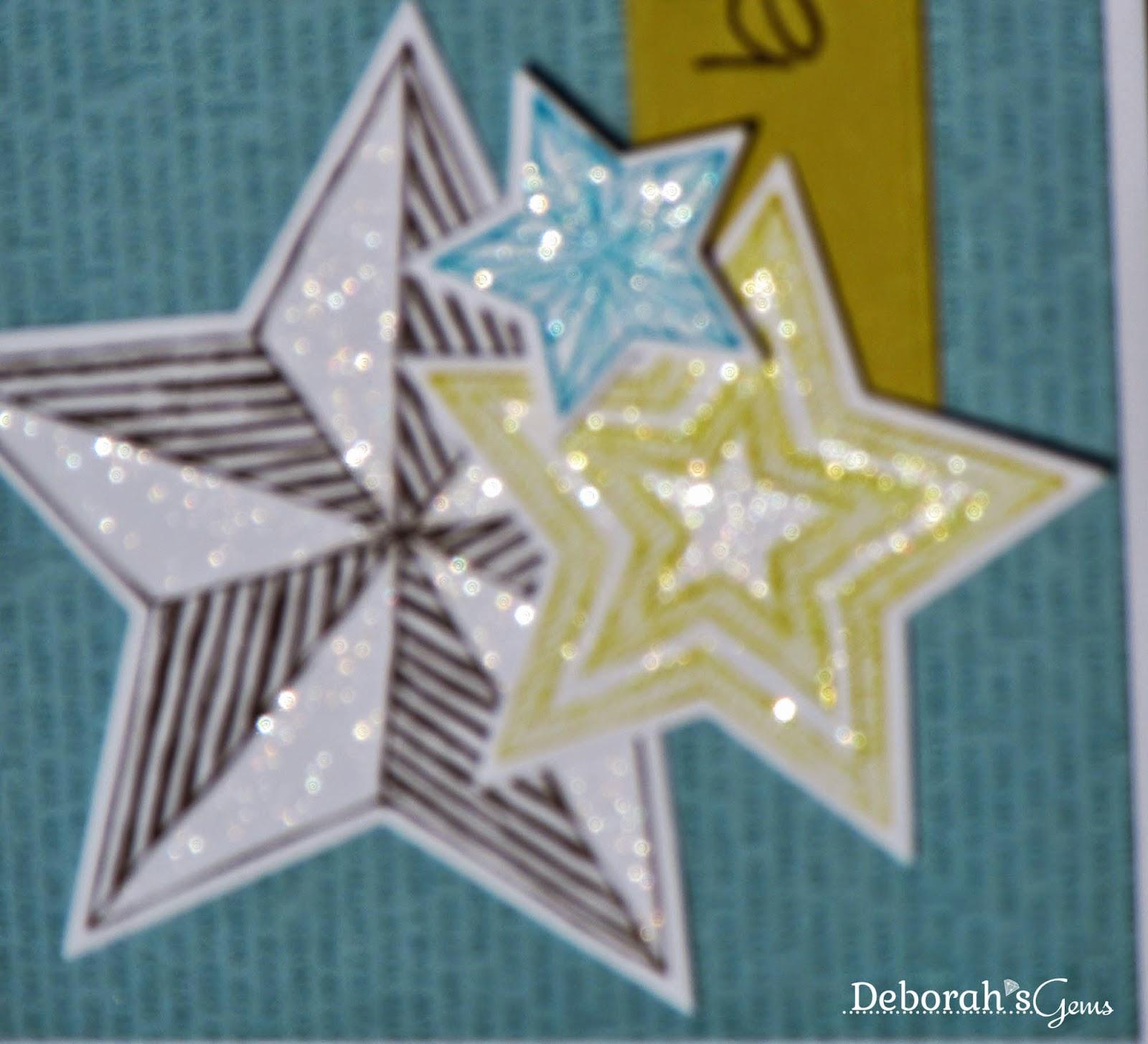 Stars detail - photo by Deborah Frings - Deborah's Gems