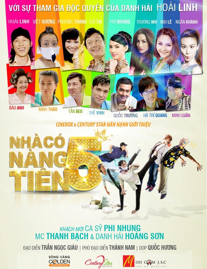 Xem phim Nhà Có 5 Nàng Tiên - Nha Co Nam Nang Tien