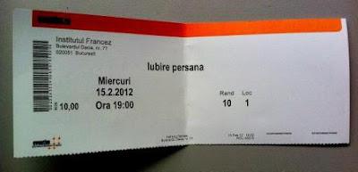 Elvira Popescu bilet nou