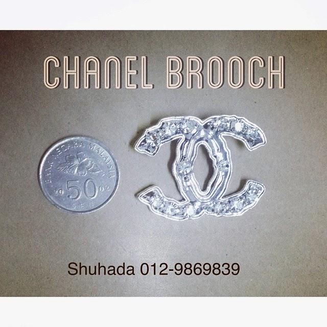 chanel brooch murah malaysia