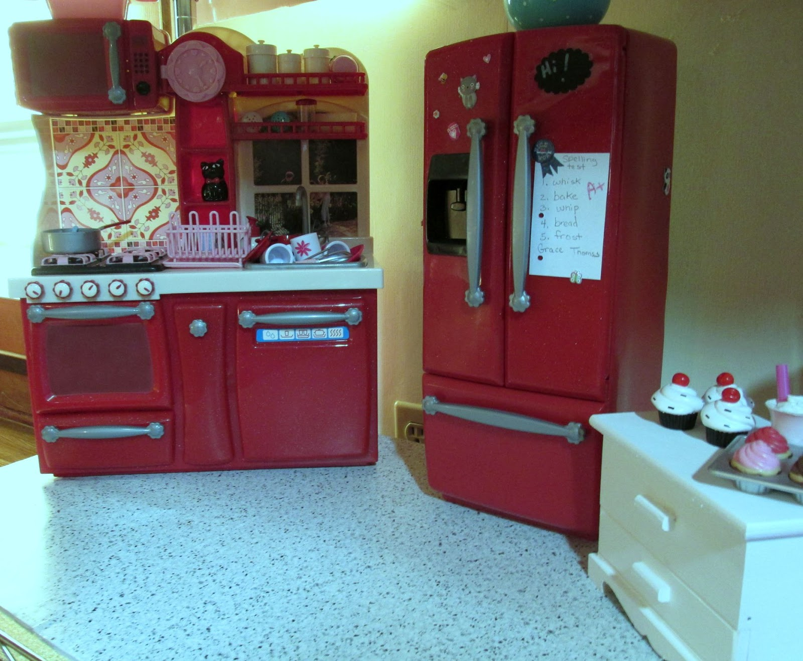 My Kitchen We Got The Set From Our Generation