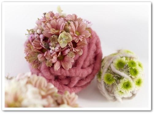 pyssel blommor, garnnytan blommor, blommor garn, flowers yarn, dit flowers