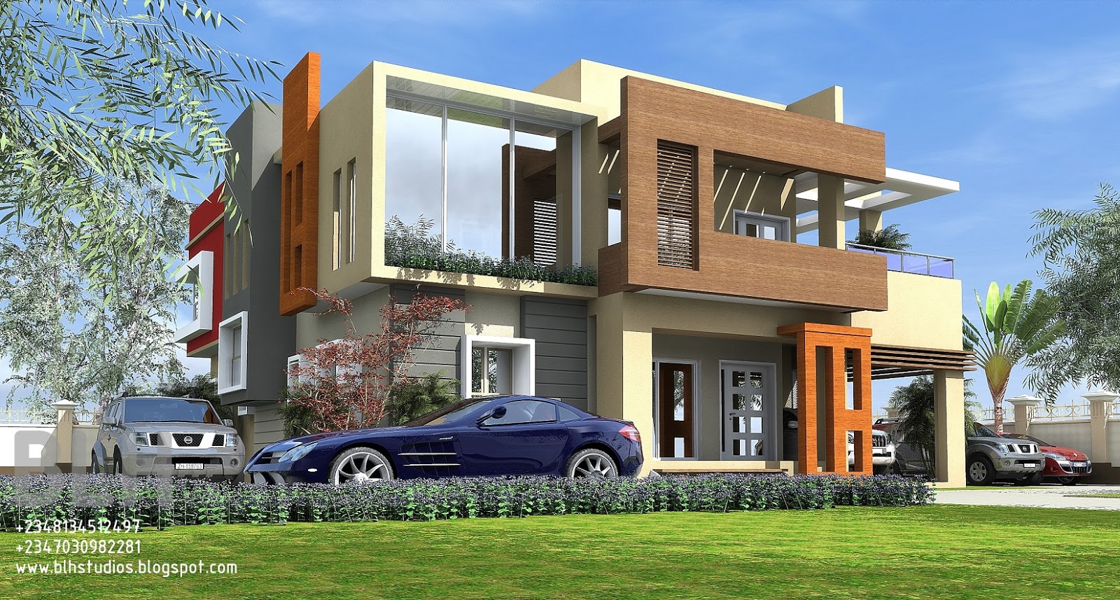 Architectural designs by blacklakehouse november 2015 for Modern duplex house plans in nigeria