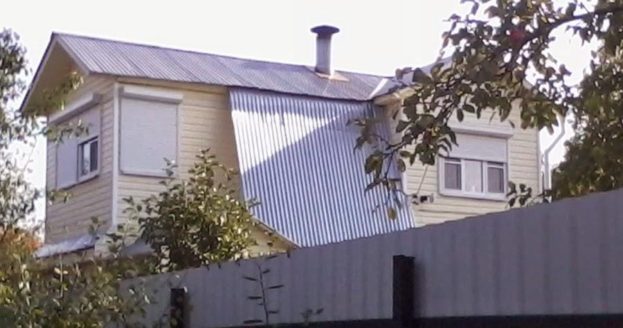 Оцинкованная крыша своими руками 705