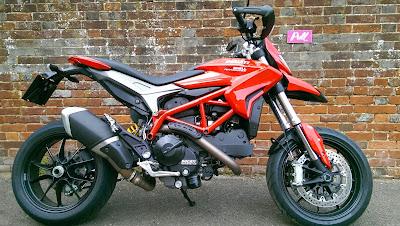 Ducati Hyperstrada Fork Upgrade
