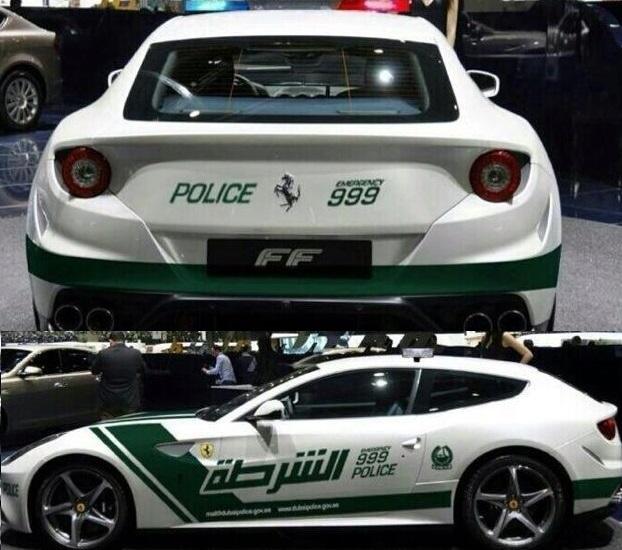 Normal Etap: Dubai Polisi'nin Diğer Süper Spor Tercihi