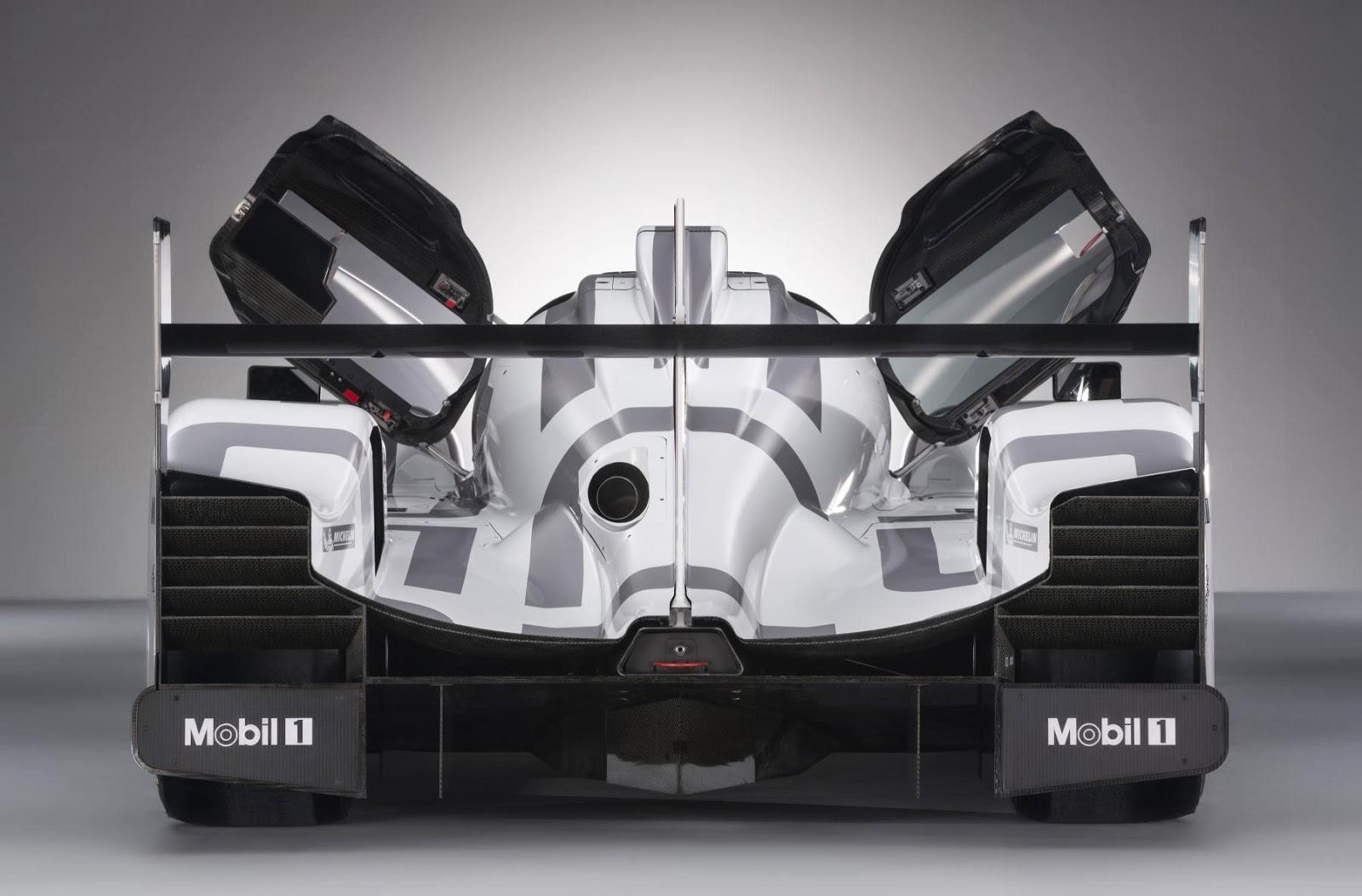 Porsche 919 Hybrid LMP1 car