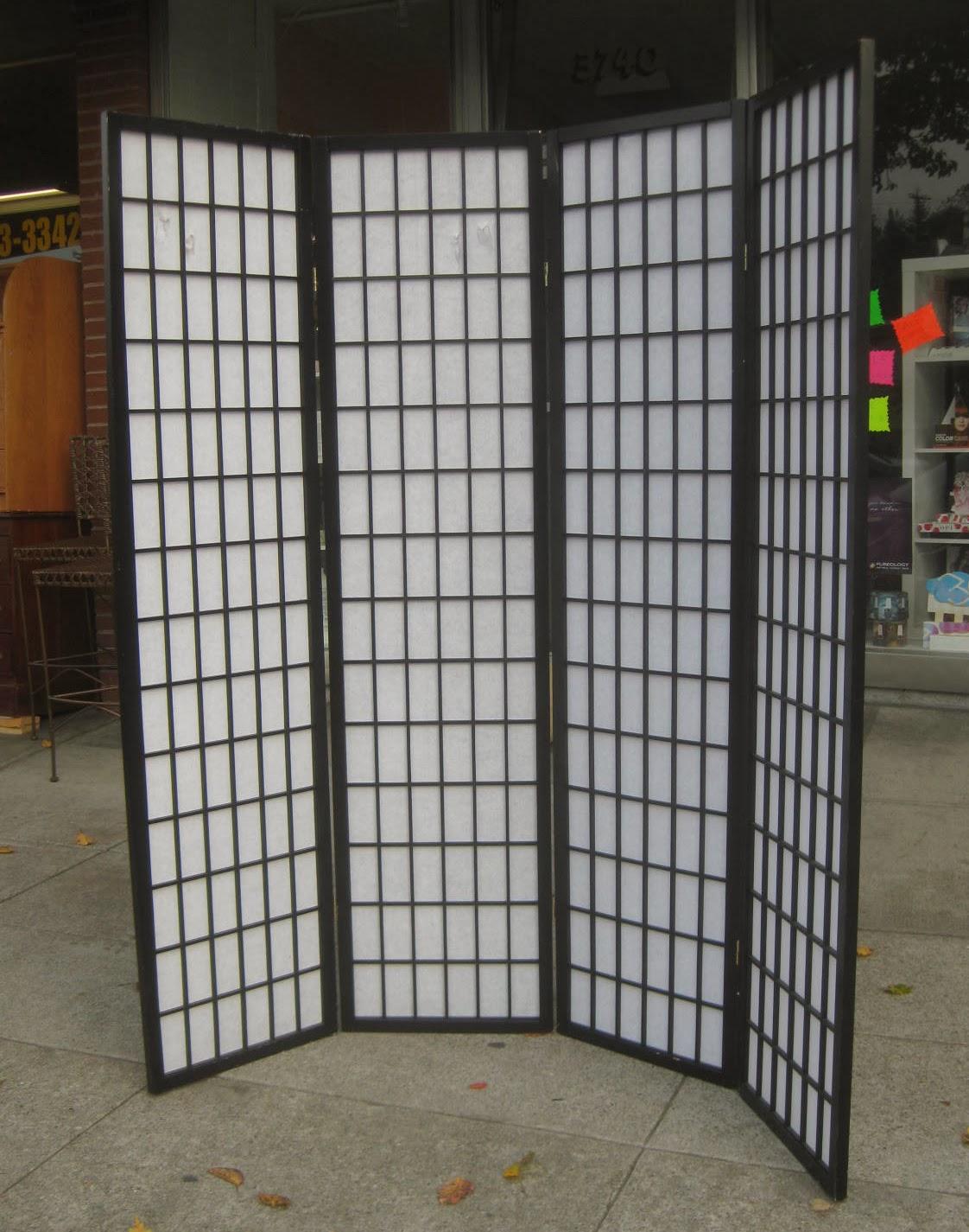 Uhuru Furniture Collectibles Sold Shoji Screen 25