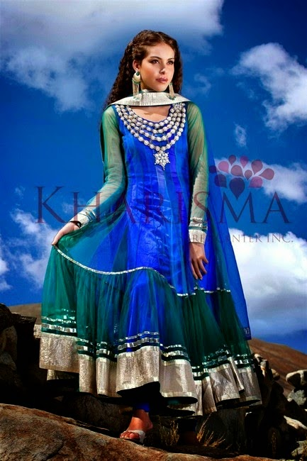 Stylish Suits from Indian Fashion by Kharishma Saree Center