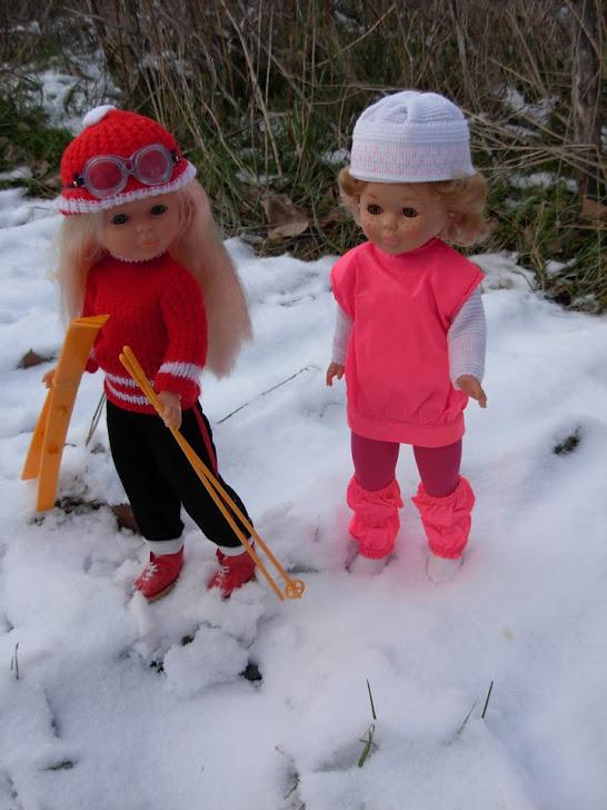 Se lo pasan genial en la nieve