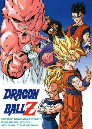 dragon ball z majin buu saga
