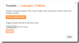 cara mendownload template blog kita