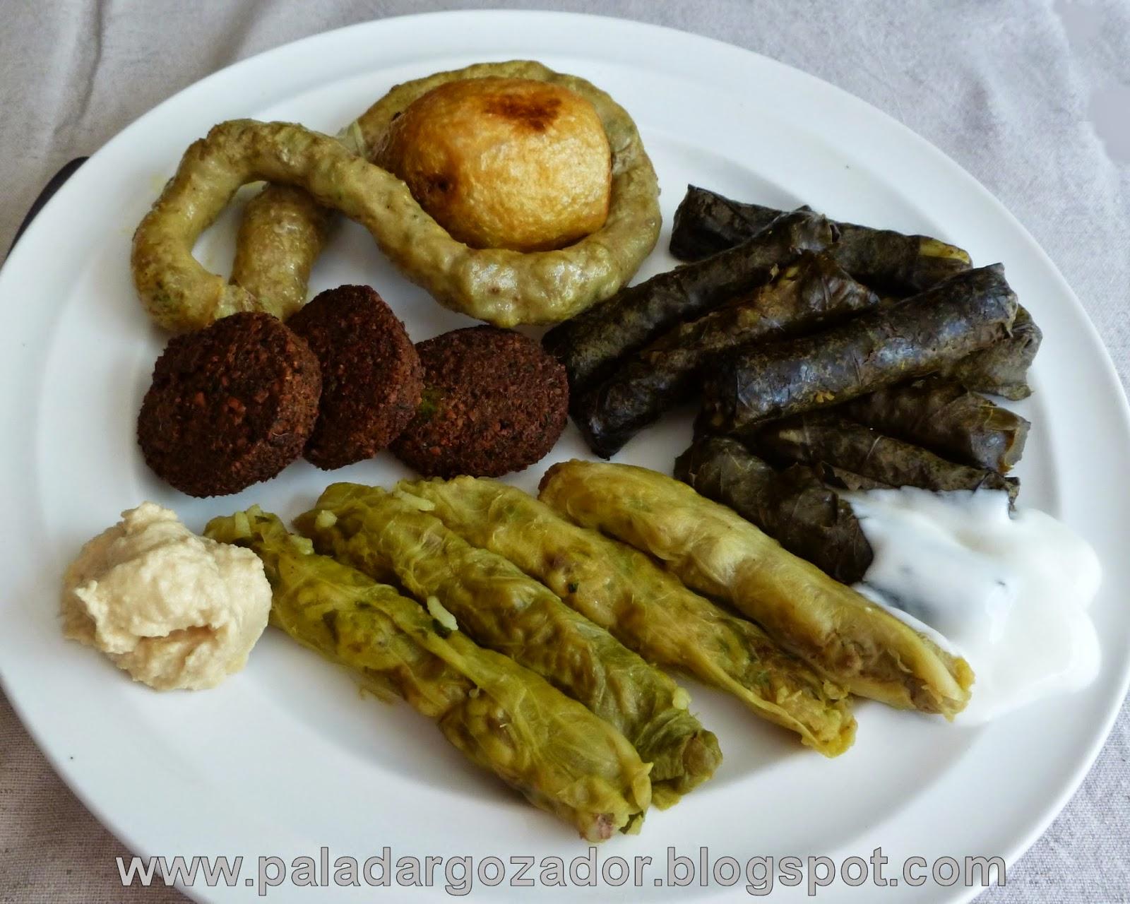 Surtido platos Pica Arabe rellenos