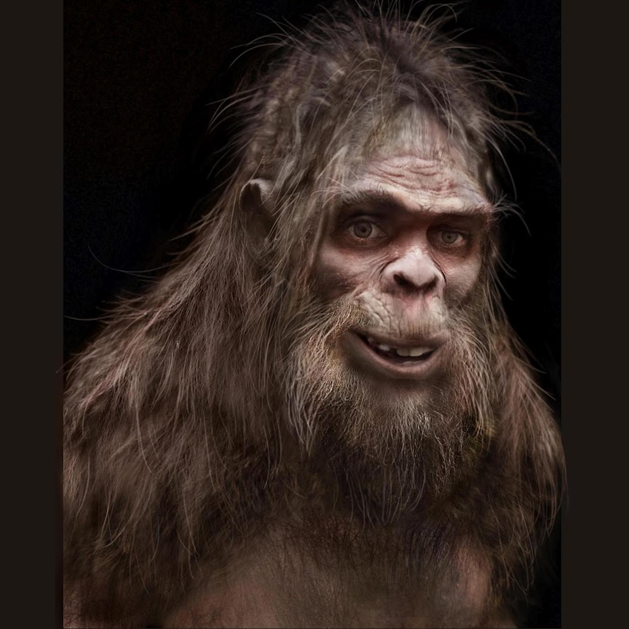 Bigfoot facial expression video nice