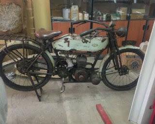Koleksi Motor Klasik Levis Butterfield 1920