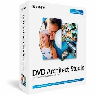 تحميل برنامج Sony DVD Architect Studio 5 مجانا لانشاء فيديوهات الديفيدي
