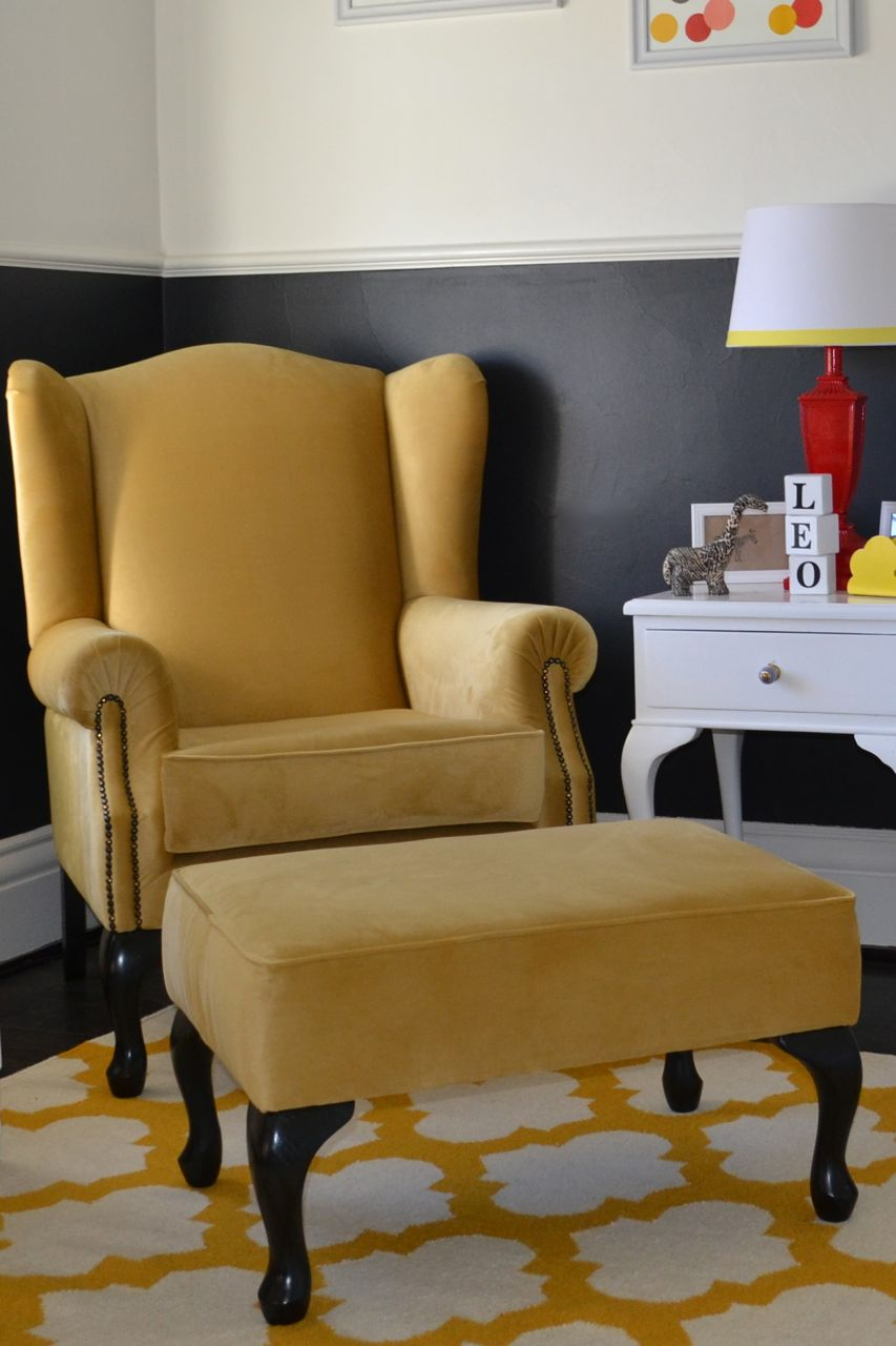 A Chair To Finish The Nursery