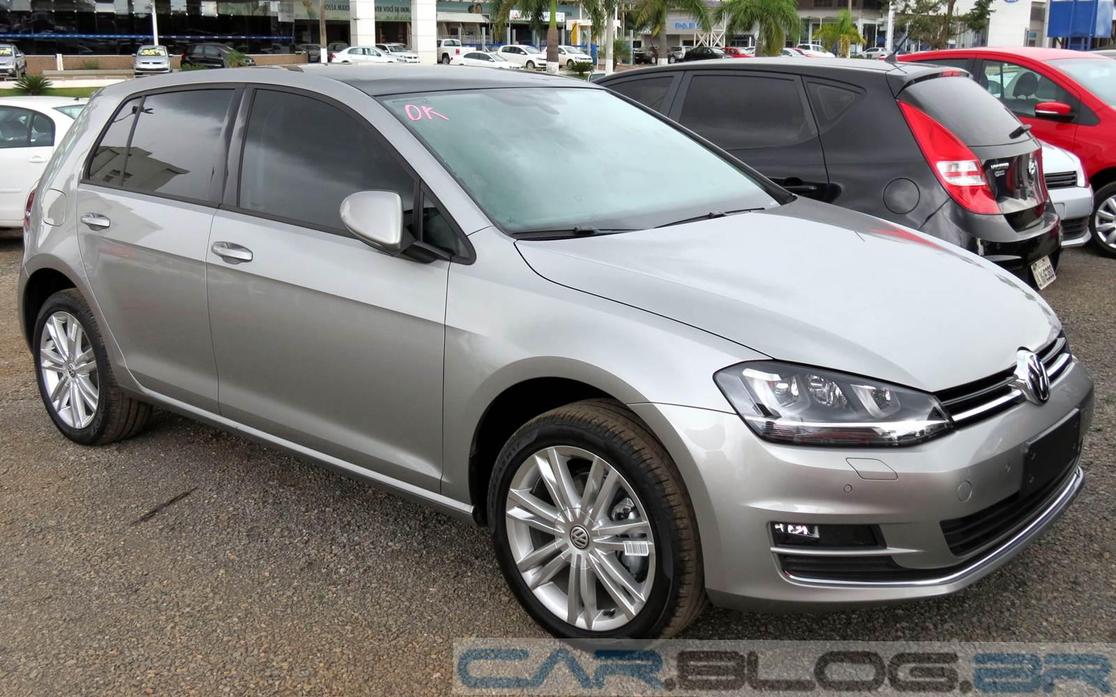 Novo VW Golf 2015 TSI - Prata Tungstênio