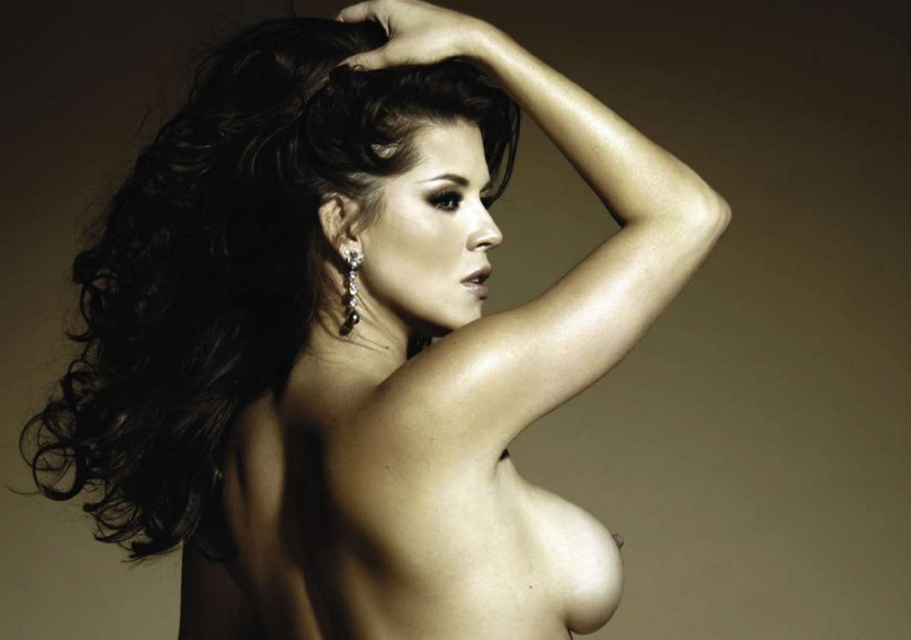 Sensual Album: Alicia Machado: La ex Miss Universo se