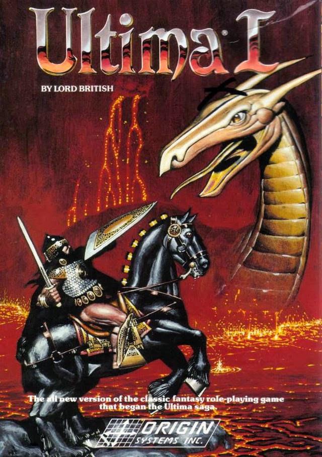Los 80, la época dorada de los videojuegos Ultima+I
