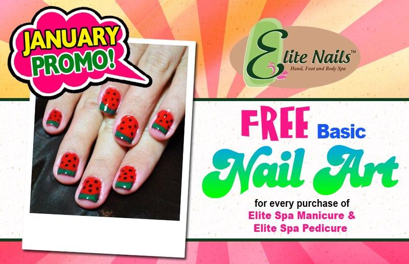 Elite Nails Hand Foot And Body Spa Alert Free Nail Art Promo At