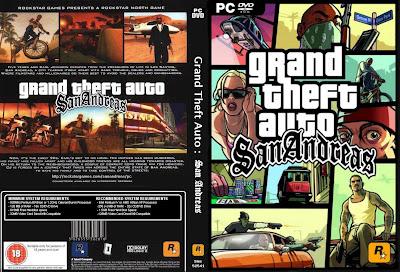 GTA San Andreas DVD Capa