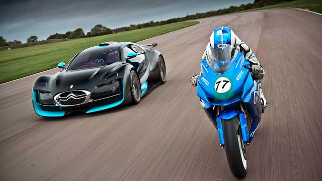 Citroen Survolt y Moto Agni Z2