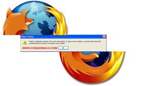 "Cara Mengatasi Firefox error "" firefox is already running"""