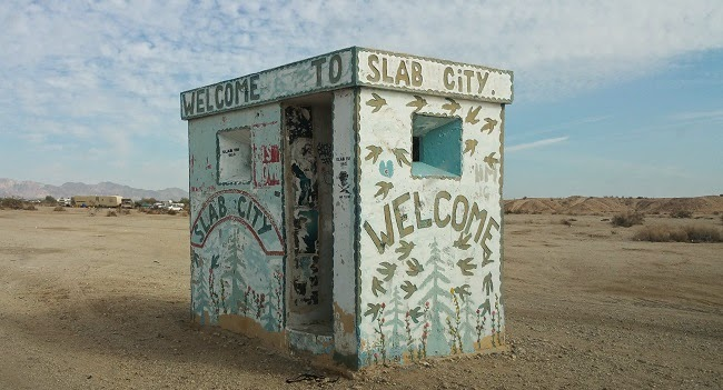 Slab City near Salton Sea