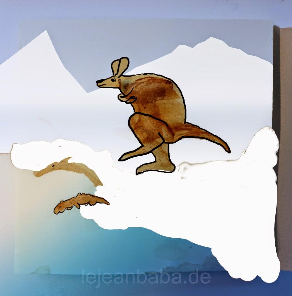 #kaffee - das Känguru am Polarmeer