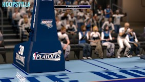 NBA 2k14 Stadium Mod : Playoff Edition - Charlotte Bobcats - Time Warner Cable Arena