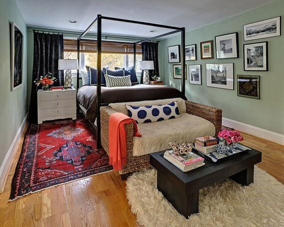 Sill n a los pies de la cama dormitorios con estilo - Sillon para dormitorio ...