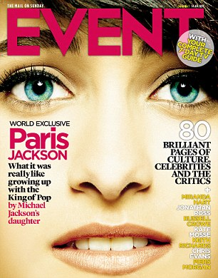 """""""Ele era um pai incrível'- Veja  algumas partes da entrevista que Paris concedeu a revista EVENT Paris+jackson"""