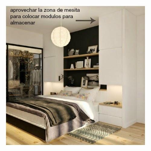Orden dormitorio for Ideas para amueblar un dormitorio