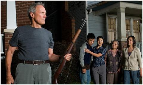 Escena de la película Gran Torino (2008,de Clint Eastwood. HITOS DEL CINE. Making Of