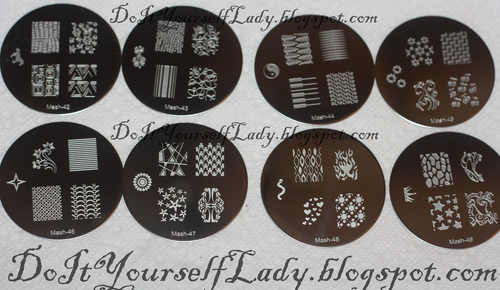 The Do It Yourself Lady: Review and Nail Art: MASH Stamping Plates ...