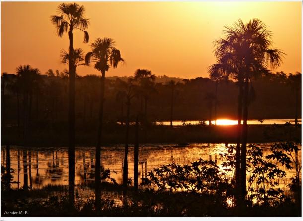 Crepúsculo * Lagoa da Prata