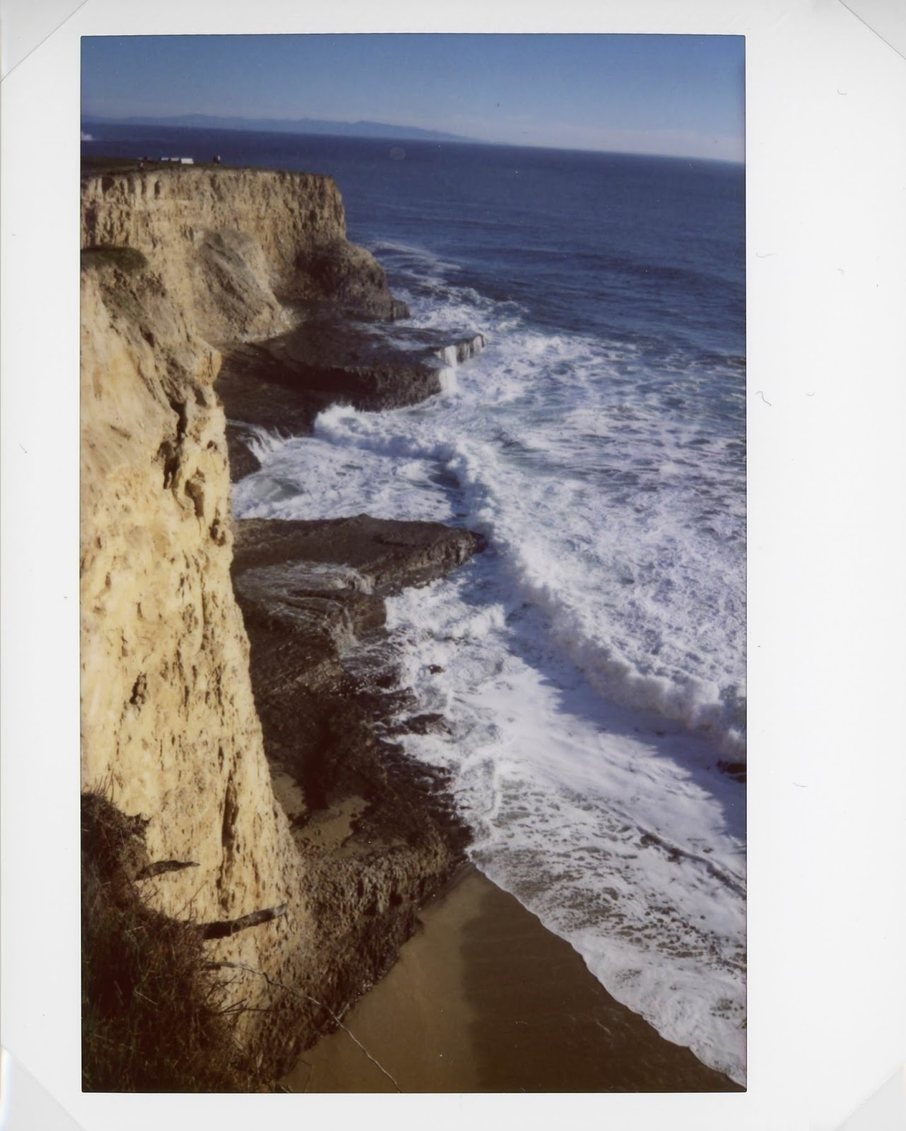 Davenport Bluffs on Instax 210
