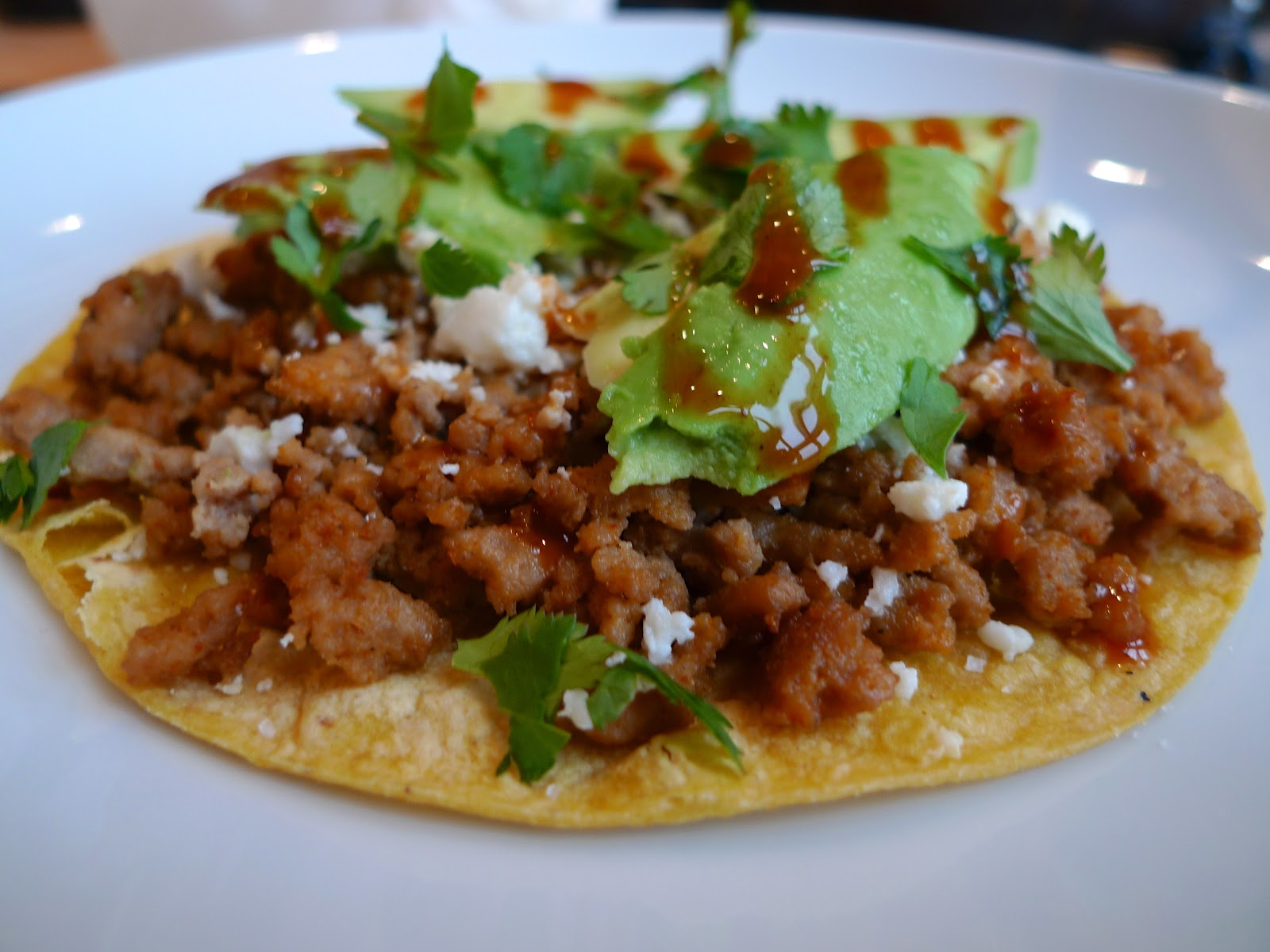 siriously delicious: Baked Tostada