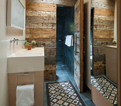 Ba os modernos ba os interiores for Banos interiores