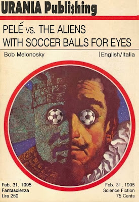 Bob Melonosky book Pele vs the ALiens funny