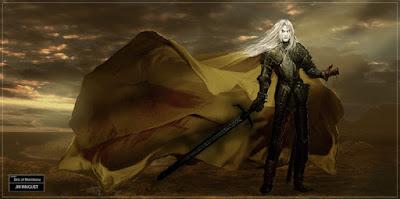 elric albino