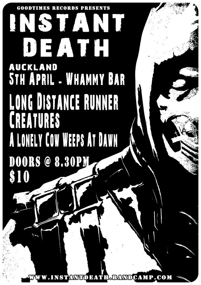 Instant Death Nz Tour: Akl Show