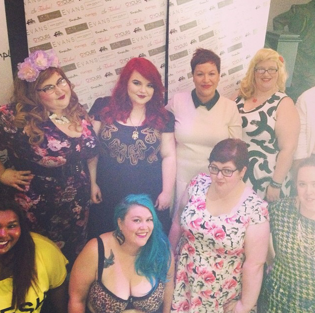 Modelling for Simply Be at Plus North 2014!