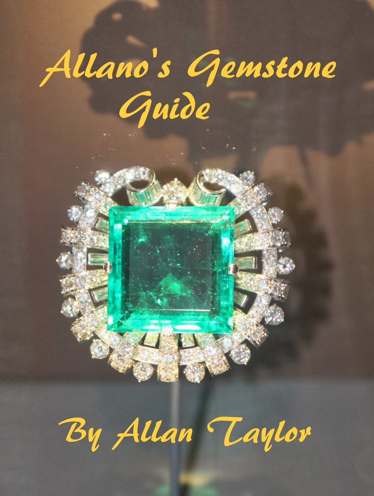 Gemstones from around the world are studied by Allano