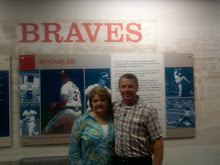 Dale and Cheri at the Braves Game